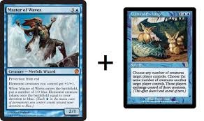 why i am very excited to add master of waves to my mono blue edh