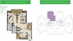 vanalika sunworld infrastructure noida expressway sector 107 view floor plan