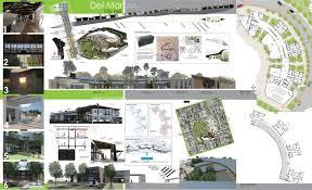 del mar proposed city plan architecture plans pinterest