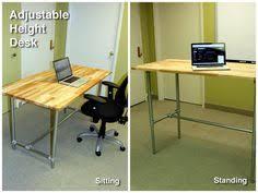 Diy Adjustable Desk Electric Height Adjustable Desk Linear Actuator Desks And Raising