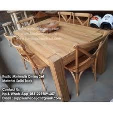 teak dining room furniture minimalist product dining table set indonesia teak jepara solid