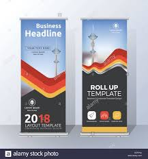 layout banner template vertical roll up banner template design for announce and advertising