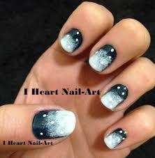 snow bizzard nails snowflakes snowflakenails snowstormnails nailchallenge blizzardnails jpg