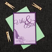 wedding invitations new zealand and fern wedding invitation be my guest