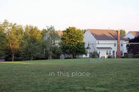 in this place the soccer field