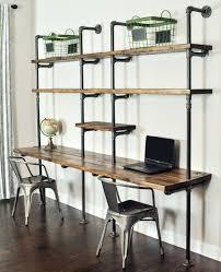 Diy Desk Pipe Best 25 Industrial Desk Ideas On Pinterest Industrial Pipe Desk