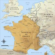 Political Map Of France by World War 1 Maps Geographx