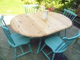 Pine Drop Leaf Table And Chairs Shabby Chic Solid Pine Drop Leaf Dining Kitchen Country Cottage
