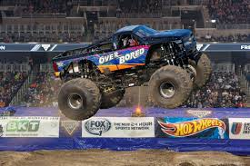 monster jam monster truck funky polkadot giraffe monster jam returns to angel stadium of