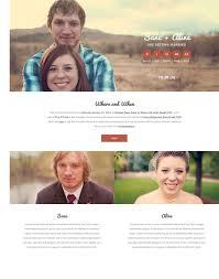 wedding web 60 beautiful wedding website templates free premium wpfreeware