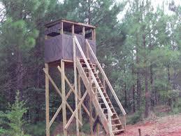 Deer Ground Blind Plans Tower Stand Pics Ideas Georgia Outdoor News Forum