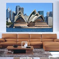 home decor shops sydney online shop wang art sydney opera house oil painting canvas art