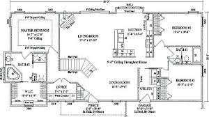 ranch floor plans ranch floor plans open concept ranch style house floor