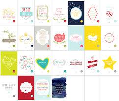 lostbumblebee christmas advent calendar