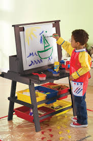 home design lovely kids art tables with storage ideas home
