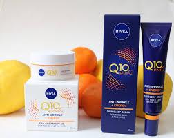 Nivea Serum Vit C nivea q10 plus c anti wrinkle energy care review one
