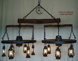 Ceiling Lantern Lights Ww031 Wagon Wheel Chandelier Light Fixture With Trees And