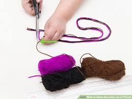 make bracelet with thread images 3 ways to make bracelets out of thread wikihow jpg