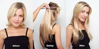 clip in hair extensions before and after clip in hair extensions 100 human indian remy hair