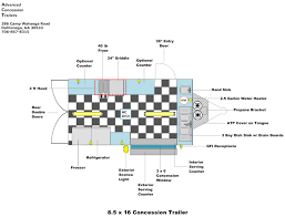 Floor Layout Floor Layouts Advanced Concession Trailers