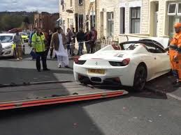 platinum executive travel images This couple just crashed a rented ferrari 458 spider on their jpg