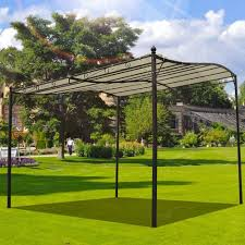 Awning Walls Buy Garden Metal Wall Gazebo Awning Shelter Door Porch 3m X 3m