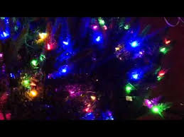 santas best pre lit tree going haywire