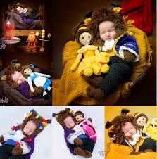 Crochet Newborn Halloween Costumes Crochet Newborn Beast Costumes Amigurimi Belle Dolls Newborn