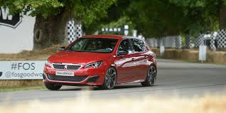 peugeot 308 range peugeot sport wows at glorious goodwood peugeot rapport