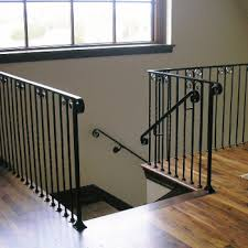 Iron Handrail For Stairs Loftus Custom Interior And Exterior Railings Steps Fences