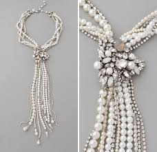 chunky pearl crystal necklace images Wedding jewelry chunky bridal statement necklaces jpg