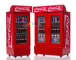 coca cola fridge glass door coca cola cooler etsy