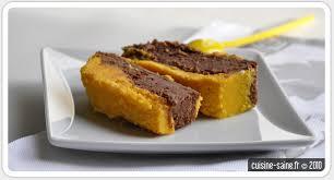 cuisine saine fr recette bio gâteau duo de chocolat et courge butternut