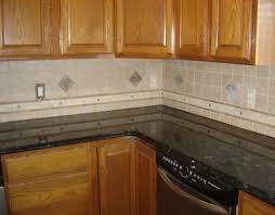 Easy Backsplash Kitchen by Interior Cool The Kitchen Back Wall Of Ceramic Tile Backsplash