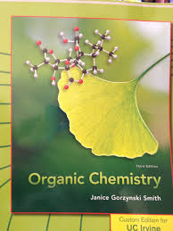 organic chemistry custom edition for uc irvine third edition by