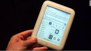 Kindle Paperwhite Barnes And Noble Barnes U0026 Noble Unveils Ultra Light Nook Glowlight E Reader Cnn