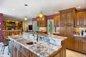 kitchen ideas two tier kitchen island designs unique kitchen