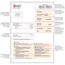 Computer Service Invoice Template by Occupyhistoryus Fascinating Iinet Invoice Guide Iihelp With