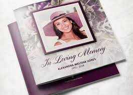 sle of funeral programs purple funeral program template brochure templates