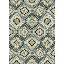 Gold Area Rugs 8 X 10 Large Aqua Blue Brown Gold Area Rug Rc Willey
