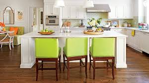 white kitchens with islands stylish kitchen island ideas southern living
