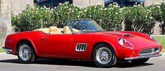 classic ferrari convertible the vintage ferrari privélege