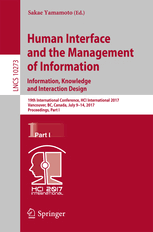 human interface design human interface and the management of information sakae