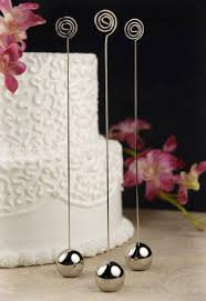 wedding table number holders silver table number holders 9 inch