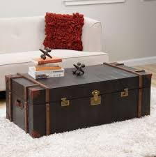 trunk coffee table set steamer trunk coffee table uk home design ideas