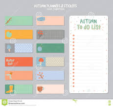 cute daily planner template cute daily calendar and to do list template stock vector image cute daily calendar and to do list template stock photography