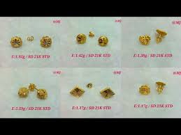 studs for ears gold small ear studs ear tops images with weight gold top stud