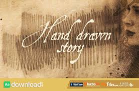 hand drawn story videohive free download free after effects