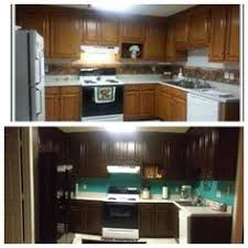 General Finishes Gel Stain Kitchen Cabinets Refinished With Nutmeg Gel Stain By General Finishes Woodworkers