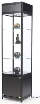 white glass storage cabinet glass cabinet with lock frameless design